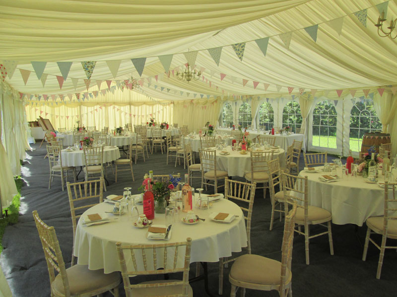 Wedding Marquee Linings